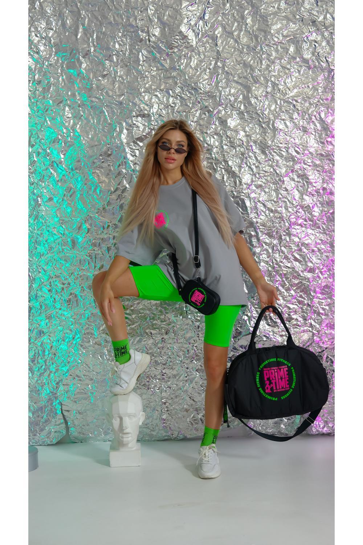 Велосипедки pink/green - pink/green