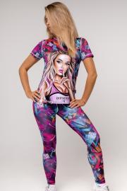 Женская футболка - капсульная коллекция ЗВЕЗДЫ